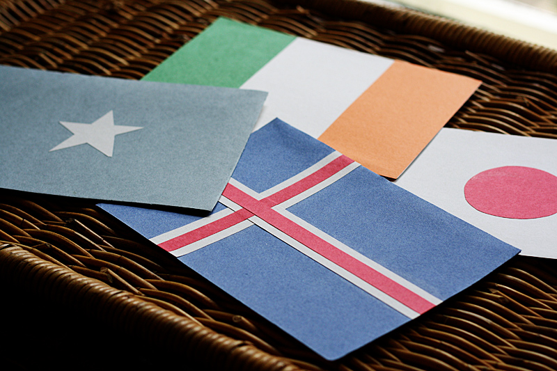 United Nations Flags - Flash Card Game @amandaformaro for Kix Cereal