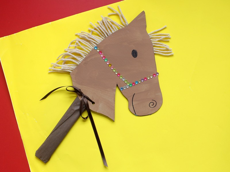 Chinese New Year Horse Craft for Kids