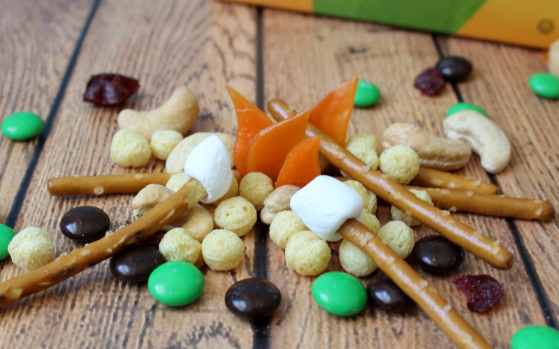 Kix Cereal Campfire Trail Mix