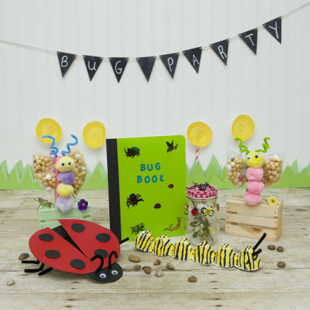 4 simple and fun insect crafts for a bug party