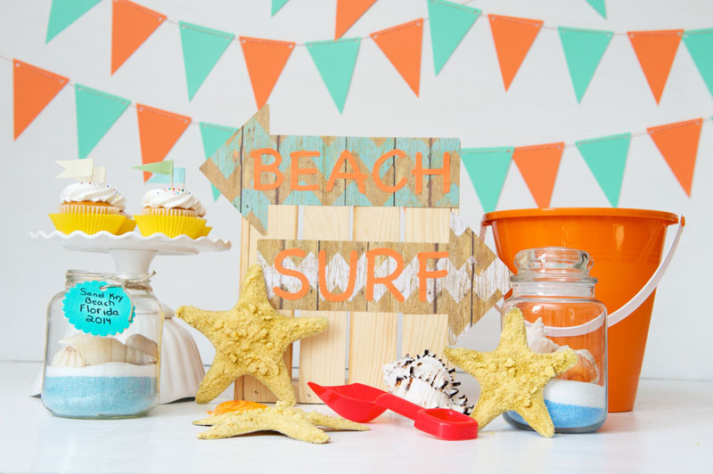 2 Beachy Craft Ideas For A Kids Beach Themed Party