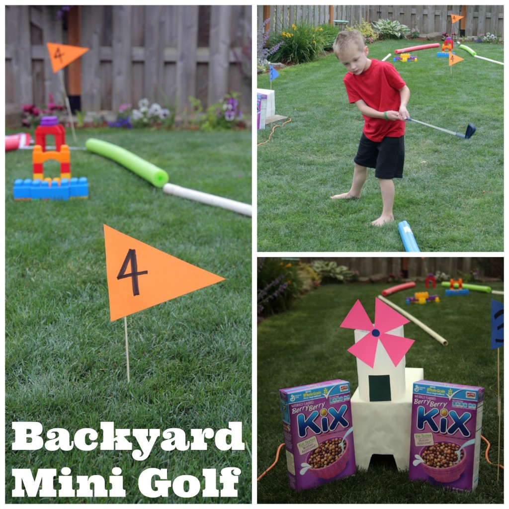 DIY Backyard Mini Golf