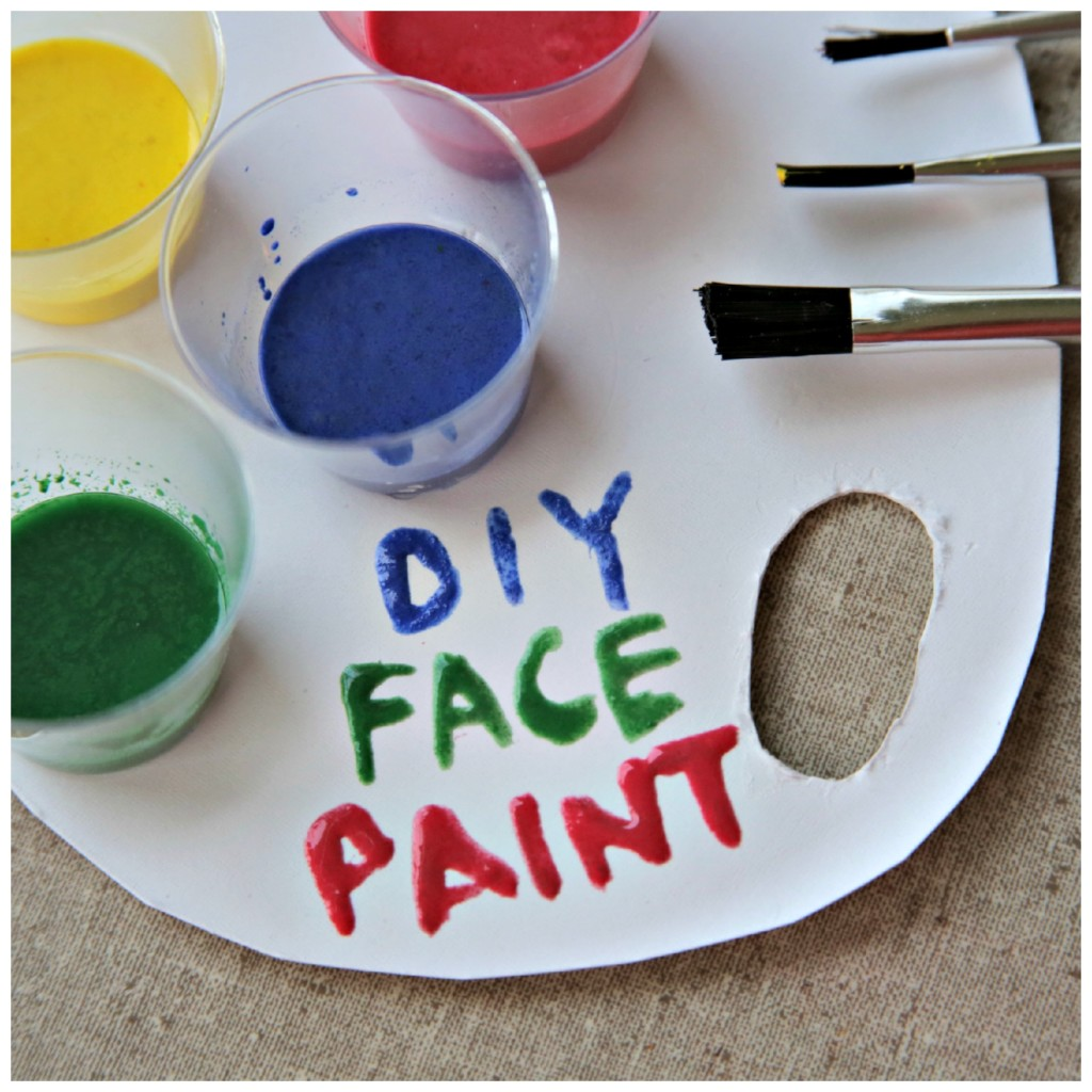 Easy Face Paint Recipe - only 3 ingredients