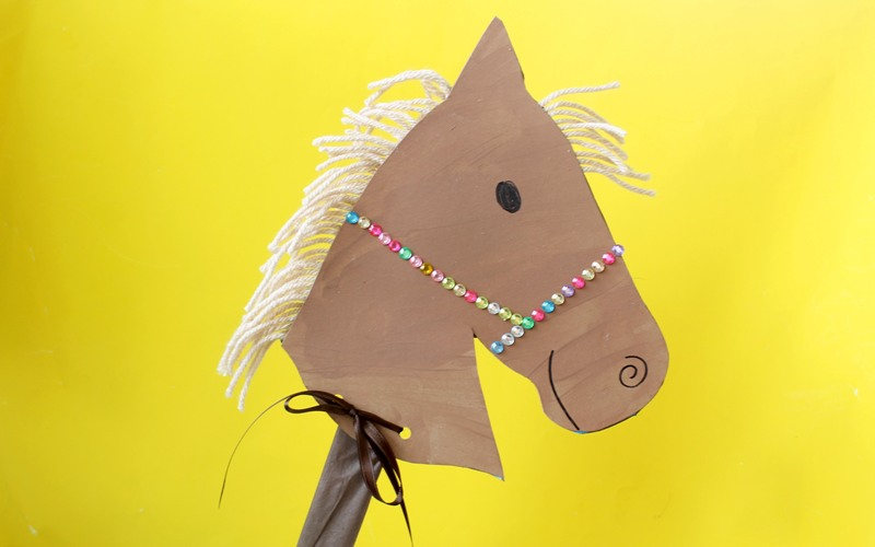 kix 2014 chinese new year horse kids craft