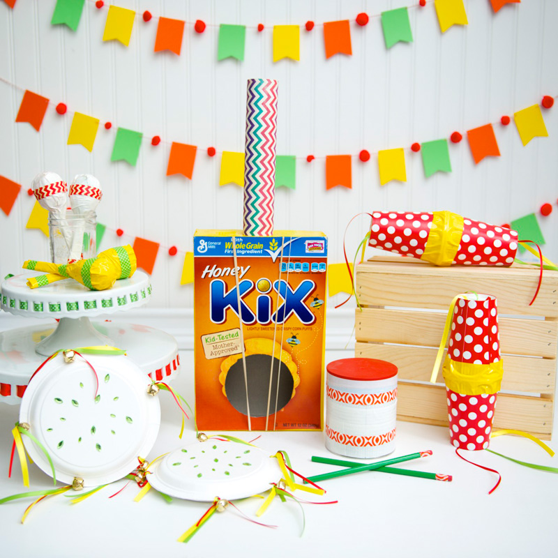 5 Fun Cinco De Mayo Inspired Music Party Crafts for Kids