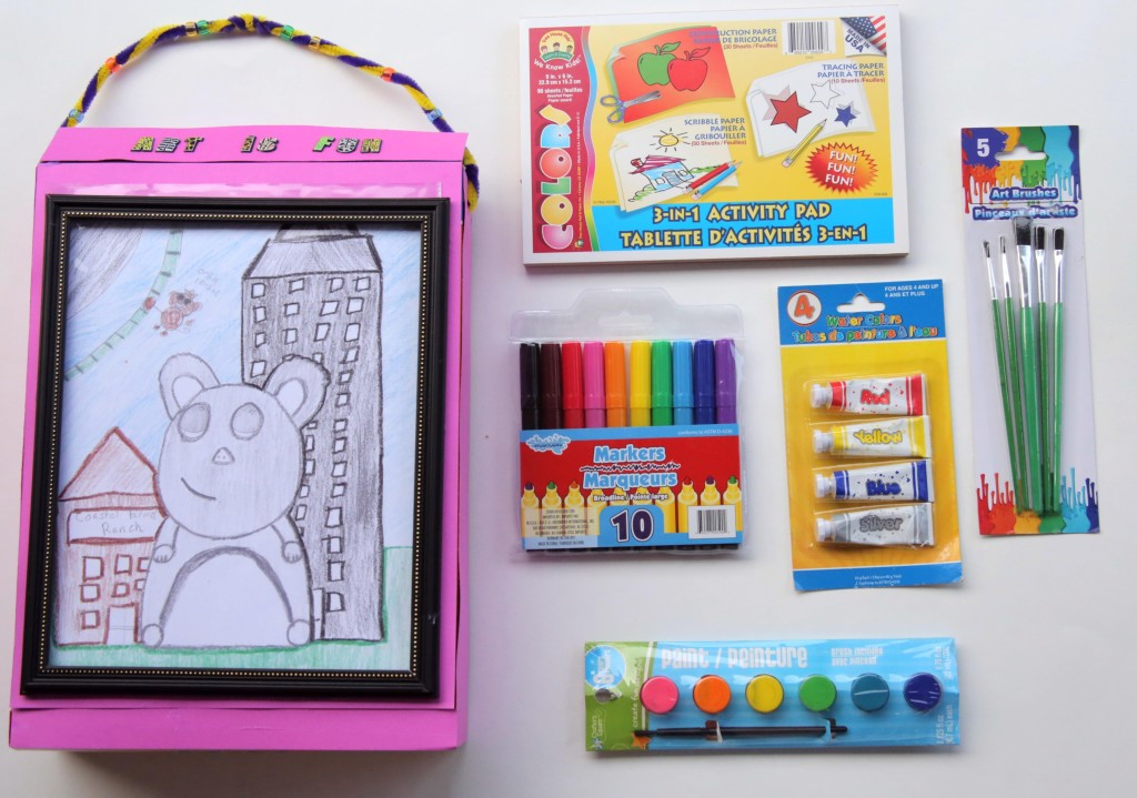 Art is fun craft kit box contents