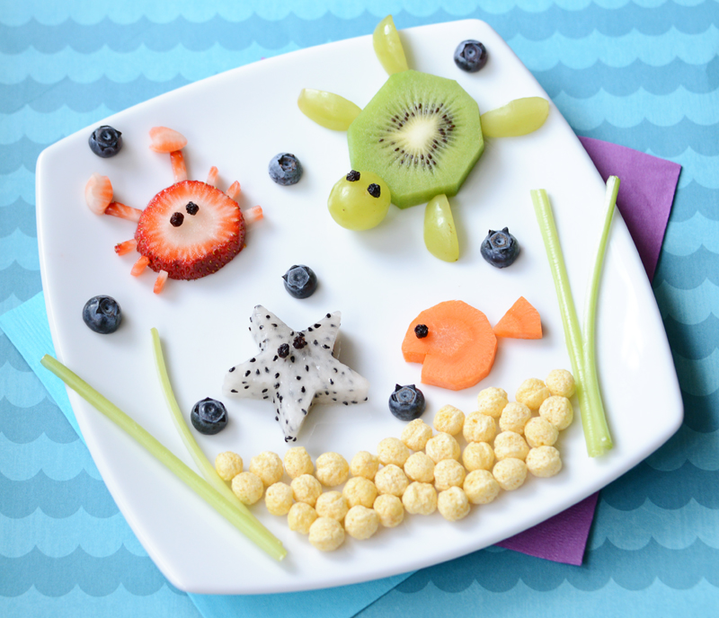Kix Food Art Under The Sea 1