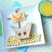 Food Art: A Pirate Ship Lunch